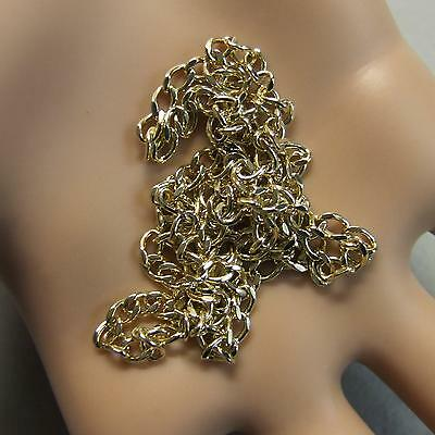 9 ct GOLD second hand solid curb chain