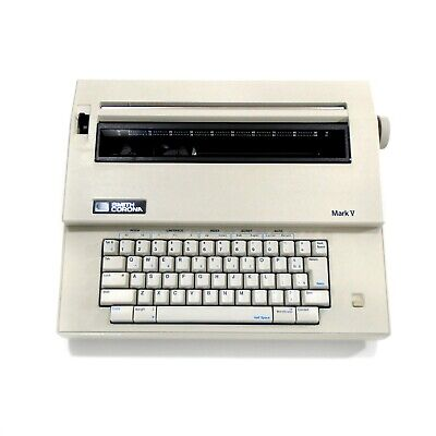Smith Corona Mark 5 Model 5a Electric Typewriter With Cover - Free Shipping
