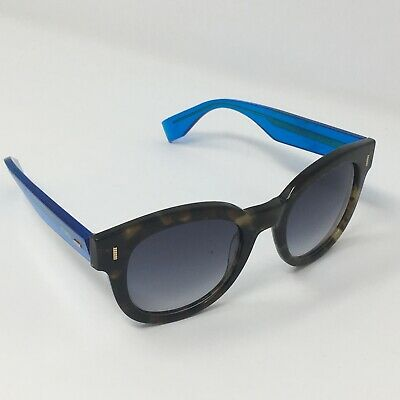 Fendi Sunglasses Italy FF 0026/S 70098 50[]22 140 Blue Brown Black Designer READ