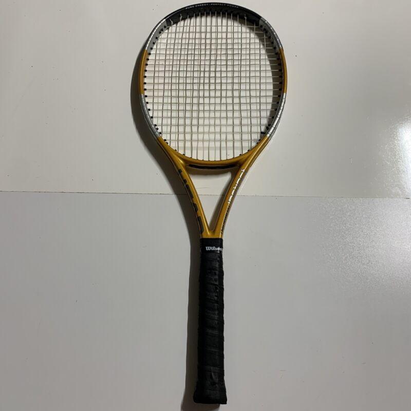 Head liquidmetal Instinct Tour XL Tennis Racquet Grip 4 3/8 ~ Excellent!