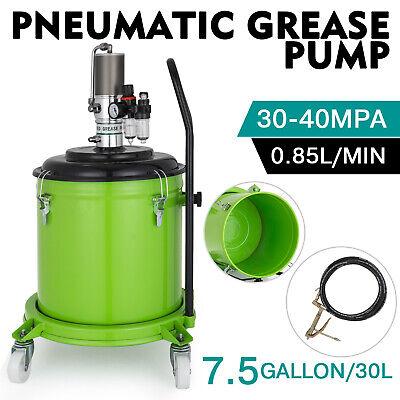 7.5 Gallon Grease Pump Air Pneumatic 30l High Pressure Air Operated Us Stock