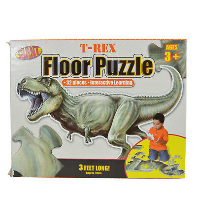 USED Giant T-Rex Floor Puzzle 3 Feet Long - Giant T Rex