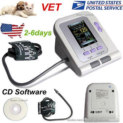 Usavet Veterinary Contec08a Digital Lcd Blood Pressure Monitor6-11cm Nibp Cuff