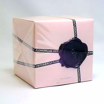 FLOWERBOMB (AUTHENTIC, NEW & SEALED) by Viktor & Rolf 3.4 oz Eau De Parfum Women