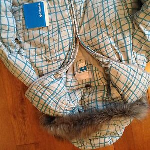 Colombia  jacket, goose down, feather, Christmas gift,BNWT