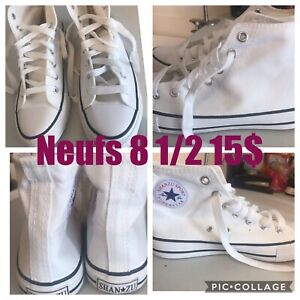 Souliers style Converse neufs 8 1/2