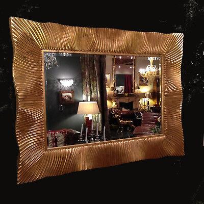Wandspiegel 125 x 95 Barock Dandasia in Gold Altgetrimmt Antik UVP 999€...