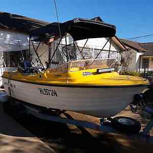 Steber boat mint condition 2009 Mercury 50HP outboard! $4500 Sydney City Inner Sydney Preview
