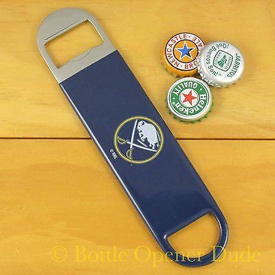 Buffalo Sabres SPEED, BAR BLADE Bottle Opener Vinyl Coated Steel NHL NEW!! Buffalo Sabres Bar