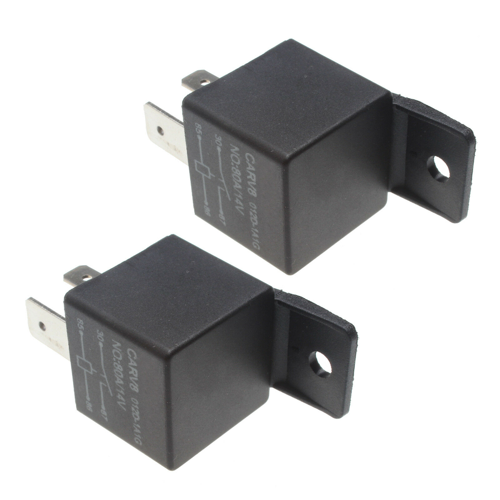 2 pcs 2x - 80A 14V FUEL SHUT OFF SOLENOID RELAY for 94-98 DODGE CUMMINS 5.9L