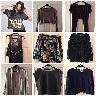 $1500 LF Stores 8 piece asos Clothing Fall Lot with Jacket Shirt Sweater S (Lf Clothing)