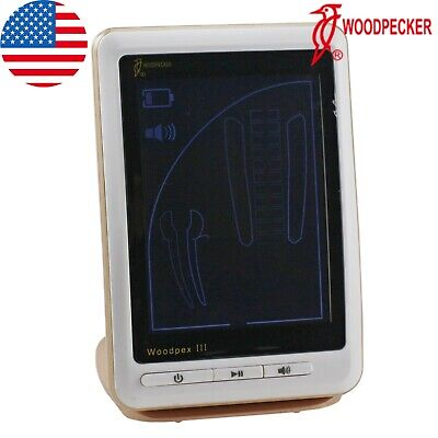 100 Woodpecker Dental Apex Locator Endodontic Root Canal Lcd Finder Woodpex Iii
