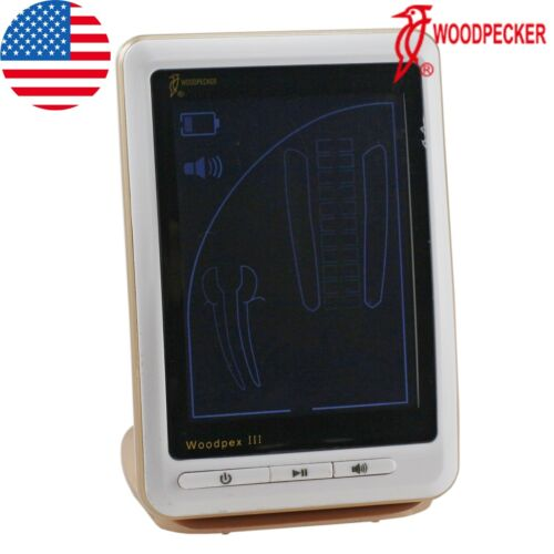 100% Woodpecker Dental Apex Locator Endodontic Root Canal LCD Finder Woodpex III