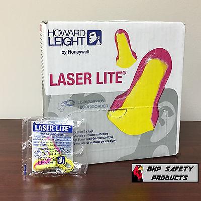 HOWARD LEIGHT LASER LITE LL-30 CORDED  FOAM EAR PLUGS 100