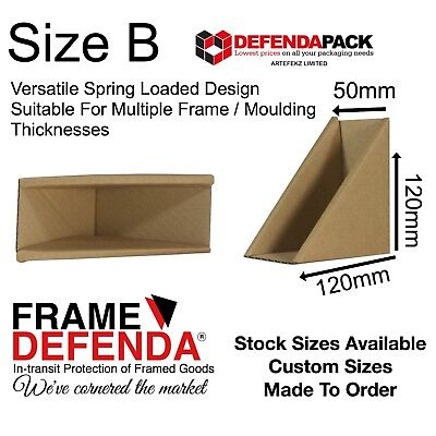 40 x 50mm PICTURE BOX FRAME CORNER POSTAL PROTECTORS  Mirrors Framed Paintings