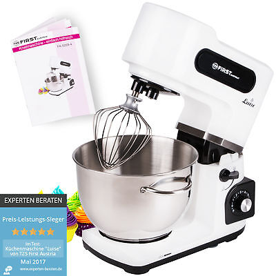 1500W Küchenmaschine 6 L Knetmaschine Teigmaschine Rührmaschine Planetenrührwerk