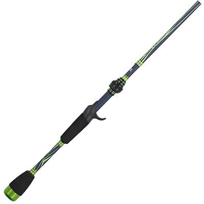 """Smart Rod"" Abu Garcia Virtual Baitcasting Rod, 6'9"" Medium-Heavy Action NEW"