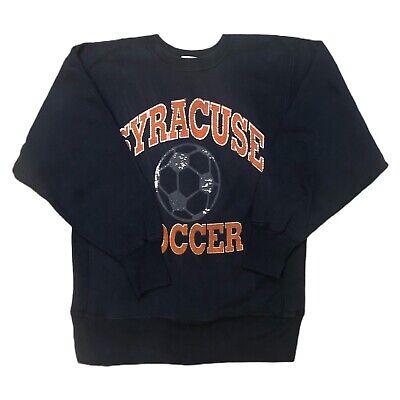 Vintage 90s Syracuse University Soccer Champion Reverse Weave Sweatshirt Rare