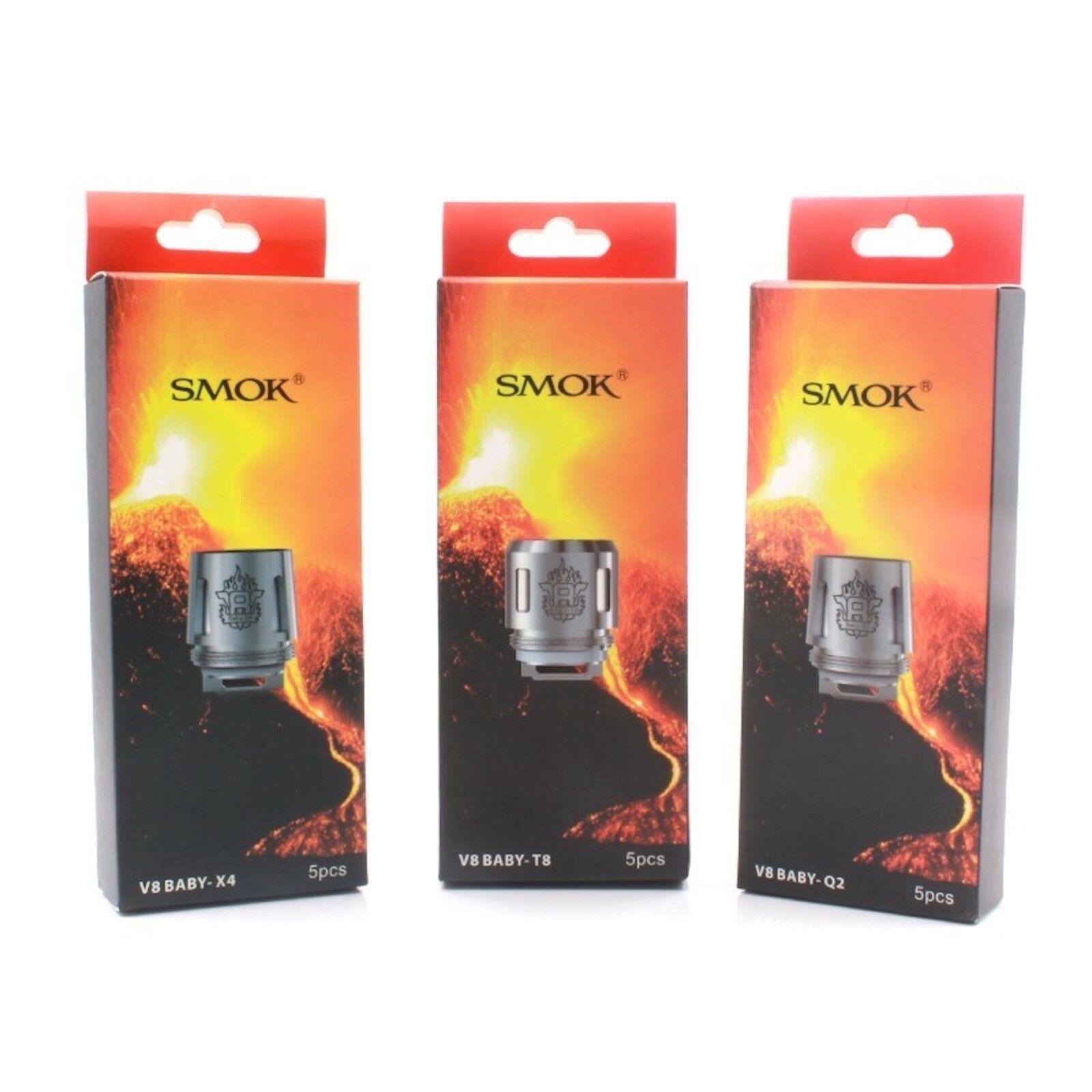 ORIGINAL SMOK TFV8 Baby Beast M2 Q2 X4 T8 T6 Coil Atomizer Verdampfer *AKTION*