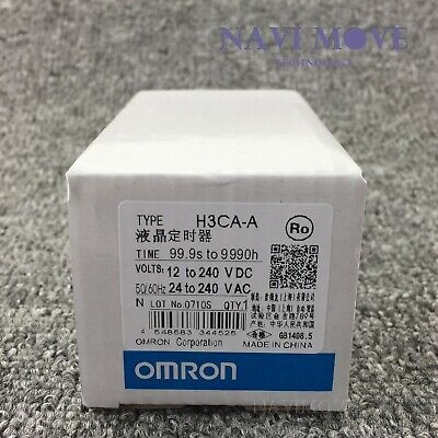 New In Box Omron H3ca-a Timer 24-240v Acvdc Us Stock