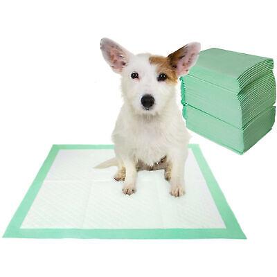 100x Pañales Toallitas Perro Entrenamiento Cachorro Almohadillas Mascotas