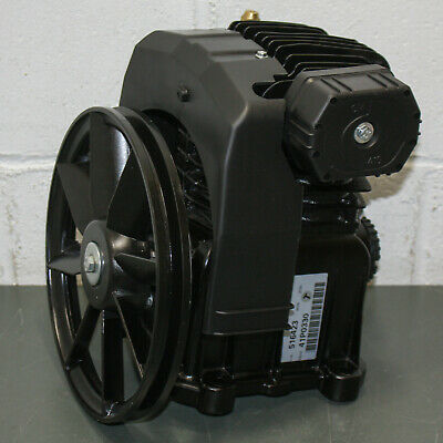 Rolair Single Stage Air Compressor Pump Head W Flywheel Pmp12mk103 1.5 To 3 Hp