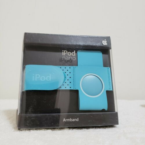 NEW Blue Apple Armband Case for iPod Nano In Retail Packaging MA663G/A