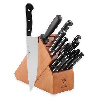 J.A. Henckels International CLASSIC 16-pc Knife Block Set, NWT