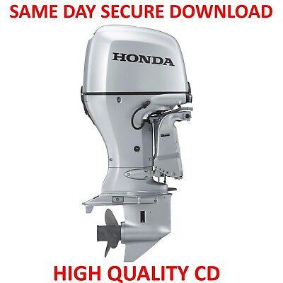 Honda BF25D BF30D Outboard Motor Service Repair Manual & Owners Manuals 25 30 HP