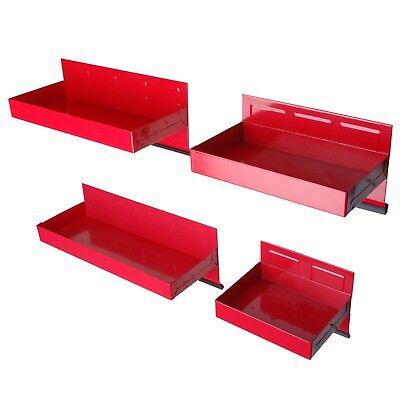Steel Core 4pc Magnetic Tool Box Tray Set Heavy Duty 20 Gauge Steel Construction