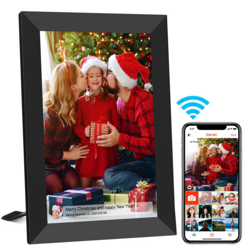10.1 Inch WiFi Digital Photo Frame Share Picture Videos From Anywhere Frameo App