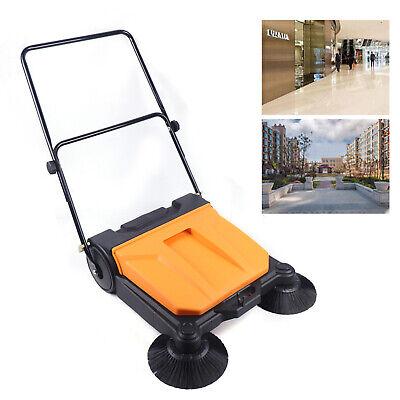 Industrial Floor Sweeper W Brooms26 Outdoor Indoor Large Area Sweeper Usa