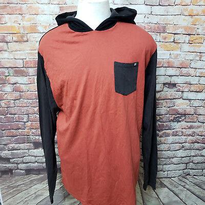 BILLABONG MEN'S COTTON HOODED SWEATSHIRT SIZE L   B06-09 Billabong Cotton Sweatshirt