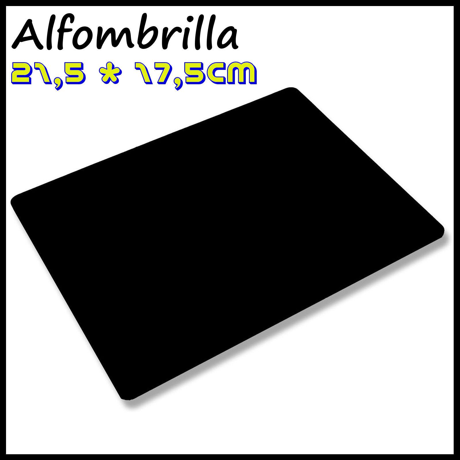 Alfombrilla De Raton Para Mouse Antibacteriana 21,5x17cm Negra - 1,61 €