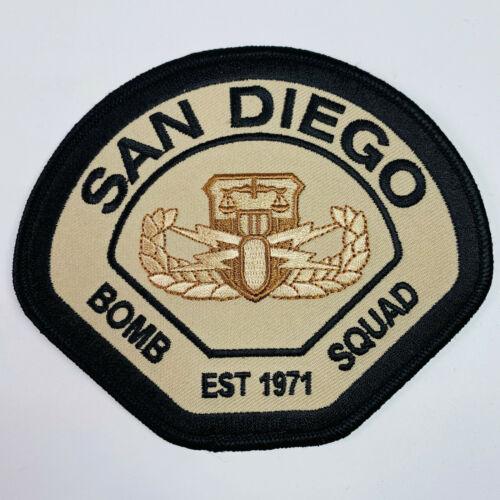 Bomb Squad San Diego Police Sheriff California Patch