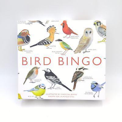 - Bird Bingo Game - EUC - Great Illustrations