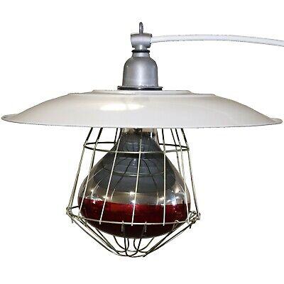 Industrial 12 Brooder Lamp Fixture Chicken Coop House Chick Warmer Heat Light