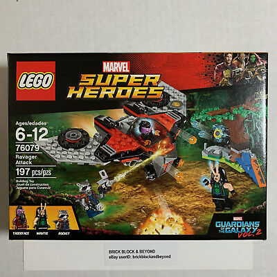 LEGO Marvel Super Heroes 76079 Ravager Attack New Sealed