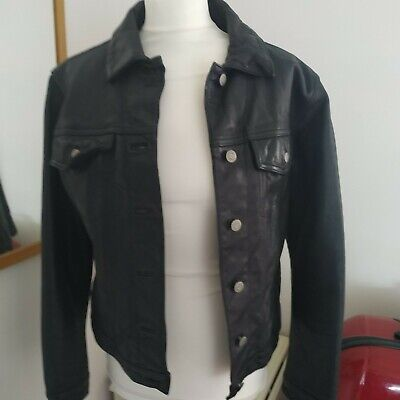 Gap Vintage Leather Jacket S/P