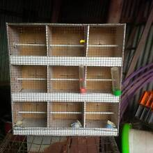 bird cage, for showing. 9 compartments Armidale City Preview