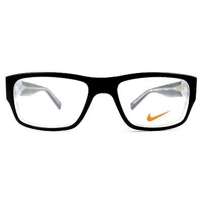 New NIKE Eyeglasses Frame Nike 5530 001 RX Matte Black Crystal 46mm 46-15-125