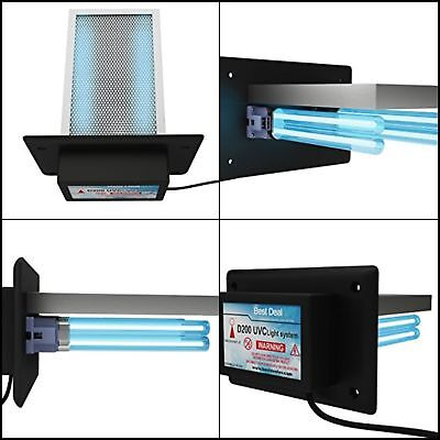 Air Purifier Whole House UV Light In Duct For HVAC AC Germicidal Furnace Filter