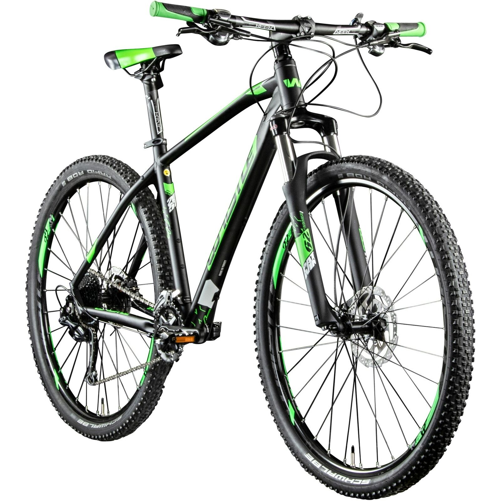 Mountainbike 29 Zoll MTB Hardtail Whistle Patwin