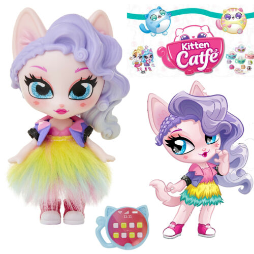 Jakks Series 1 GINGER GLITZ Kitten Catfe Doll Mystery Purrista Girls Blind Bag