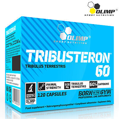 TRIBUSTERON 60 - Natural Extract Of Tribulus Terrestris - Testosterone (Best Sport Supplements Natural Testosterone Boosters)