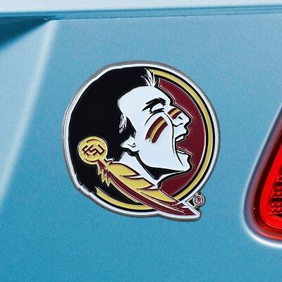 Florida State Seminoles Heavy Duty Metal 3-D Color Auto Emblem
