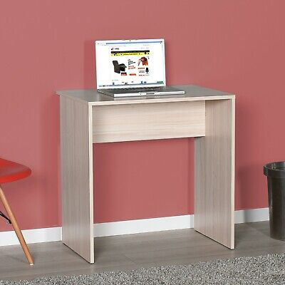 Beech Effect Work Computer Desk Home Office Study Laptop