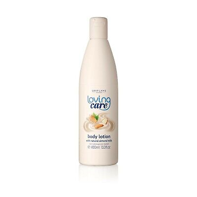 Oriflame Loving Care Body Lotion with Natural Almond Milk 400ml - Best Skin (Best Natural Skin Lotion)
