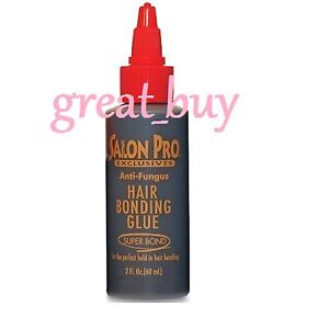 salon pro exclusives 2 anti fungus super bond professional use weft glue ebay. Black Bedroom Furniture Sets. Home Design Ideas