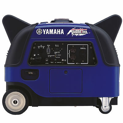 Yamaha EF3000iSEB 3,000 Watt Gas Powered Portable Inverter Generator w/ Boost